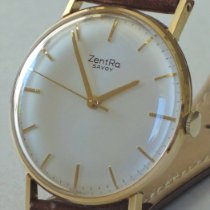 ZentRa pre-owned Manual winding 33,5mm White Plexiglass Not water resistant