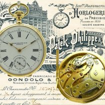 Patek Philippe Gondolo Bom Ouro amarelo Corda manual