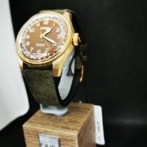 Oris Big Crown Pointer Date Bronze 40mm Brun Arabes