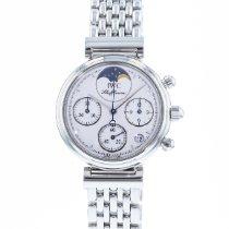IWC Women's watch Da Vinci Chronograph 29mm Quartz pre-owned Watch with original papers