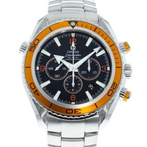 Omega 2218.50.00 Steel 2010 Seamaster Planet Ocean Chronograph 45.5mm pre-owned United States of America, Georgia, Atlanta