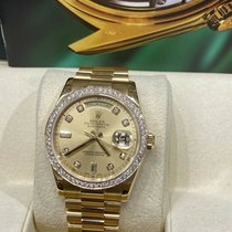 Rolex Day-Date 2000 pre-owned
