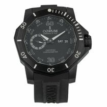 Corum pre-owned Automatic 48mm Black Sapphire crystal 100 ATM