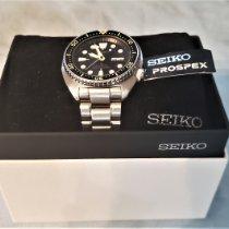 Seiko Prospex Steel 44.5mm Black United States of America, Georgia, jesup