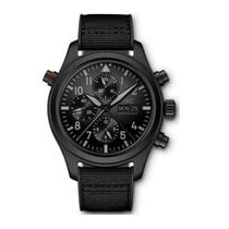 IWC Pilot Double Chronograph new 2021 Automatic Watch with original box and original papers IW371815