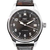 IWC Pilot's Watch Automatic 36 occasion 36mm Gris Date Cuir de crocodile