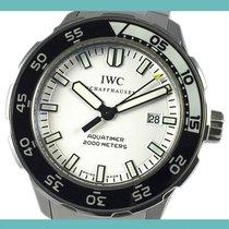 IWC Aquatimer Automatic 2000 Acero 44mm Blanco Sin cifras España, Barcelona
