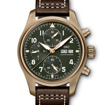 IWC Pilot Spitfire Chronograph IW387902 New 41mm Automatic