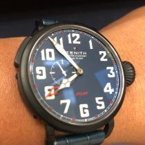 Zenith Pilot Type 20 GMT new 2019 Automatic Watch with original box and original papers 96.2436.693/51.C779
