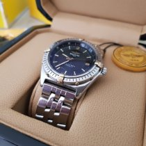 Breitling Antares Steel 39mm Black No numerals