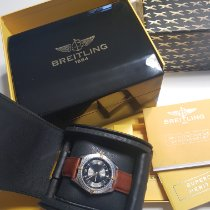 Breitling Antares Acero 39mm Negro Sin cifras