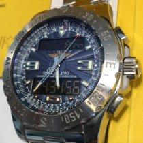 Breitling Airwolf Steel 44mm Blue Arabic numerals