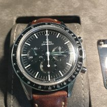 Omega Speedmaster Professional Moonwatch Сталь 39.7mm Чёрный Без цифр