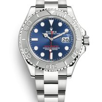 Rolex Yacht-Master 40 Steel 40mm Blue No numerals United Kingdom, Edinburgh