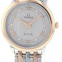 Omega De Ville Prestige Acero y oro 27.4mm Plata