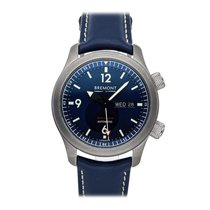Bremont Steel Automatic Blue Arabic numerals 43mm pre-owned U-2