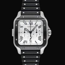 Cartier Santos (submodel) Steel 43.3mm Silver United States of America, California, Burlingame