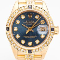 Rolex Lady-Datejust Oro amarillo 26mm Azul Sin cifras España, Madrid