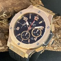 Hublot Red gold Automatic Black 44.5mm pre-owned Big Bang 44 mm