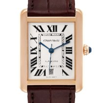 Cartier Tank Solo pre-owned 31mm Silver Date Buckle