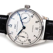 IWC Portuguese Automatic Acier 42mm Argent Arabes France, Paris