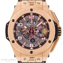 Hublot Big Bang Ferrari 401.0X.0123.VR Very good Rose gold 45mm Automatic