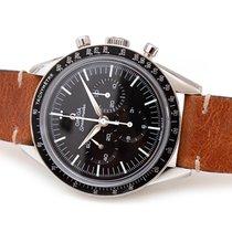 Omega Speedmaster Professional Moonwatch occasion 39.7mm Noir Chronographe Tachymètre Cuir
