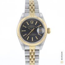 Rolex Lady-Datejust Goud/Staal 26mm Zwart Nederland, Maastricht