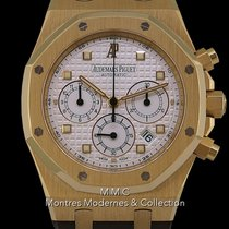 Audemars Piguet Royal Oak Chronograph Or jaune 39mm Argent France, Paris