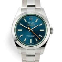 Rolex Milgauss Steel 40mm Blue United Kingdom, London
