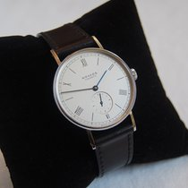 NOMOS Ludwig 38 Steel 37.5mm White Roman numerals