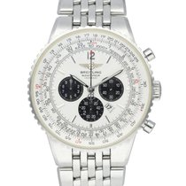 Breitling Navitimer Heritage Steel 42mm Silver United States of America, New York, New York