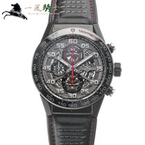TAG Heuer Steel Automatic 45mm pre-owned Carrera Calibre HEUER 01