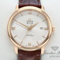 Omega De Ville Prestige Oro rosa Plata Romanos