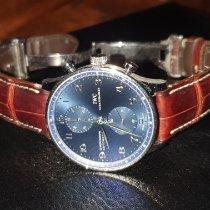 IWC Portuguese Chronograph Acier Bleu Arabes France, Morières-lès-Avignon