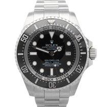 Rolex Sea-Dweller Deepsea Otel 44mm Albastru