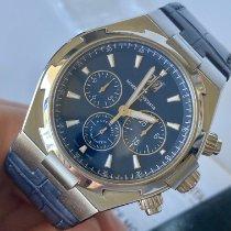 Vacheron Constantin Overseas Chronograph Stahl 42mm Blau Keine Ziffern