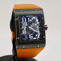 Richard Mille RM 016 Titanium 37mm Transparent Arabic numerals