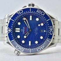 Omega Seamaster Diver 300 M Steel 42mm Blue Arabic numerals