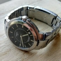 Tissot PR 100 Stål 38mm Sort Ingen tal
