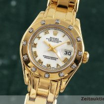 Rolex Lady-Datejust Pearlmaster 29mm Alb