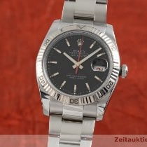 Rolex Datejust Turn-O-Graph Or/Acier 36mm Noir