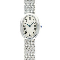 Cartier Baignoire Platinum 23mm Silver Roman numerals United States of America, California, Beverly Hills