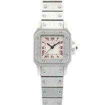 Cartier Santos (submodel) Platinum 24mm Silver United States of America, California, Beverly Hills