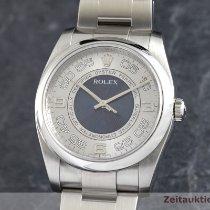 Rolex Oyster Perpetual 36 Stahl 36mm Silber Deutschland, Chemnitz