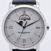 Baume & Mercier Classima Acero 42mm Plata Romanos