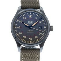 IWC Automatic Grey 41mm pre-owned Pilot Mark