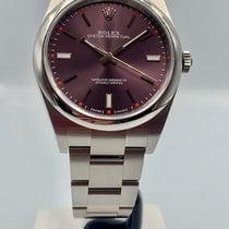 Rolex Oyster Perpetual 39 Steel 39mm Blue No numerals United Kingdom, London