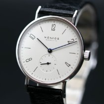 NOMOS pre-owned Manual winding 38mm Silver Sapphire crystal 3 ATM