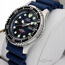 Citizen Promaster Marine Steel 42mm Blue Arabic numerals